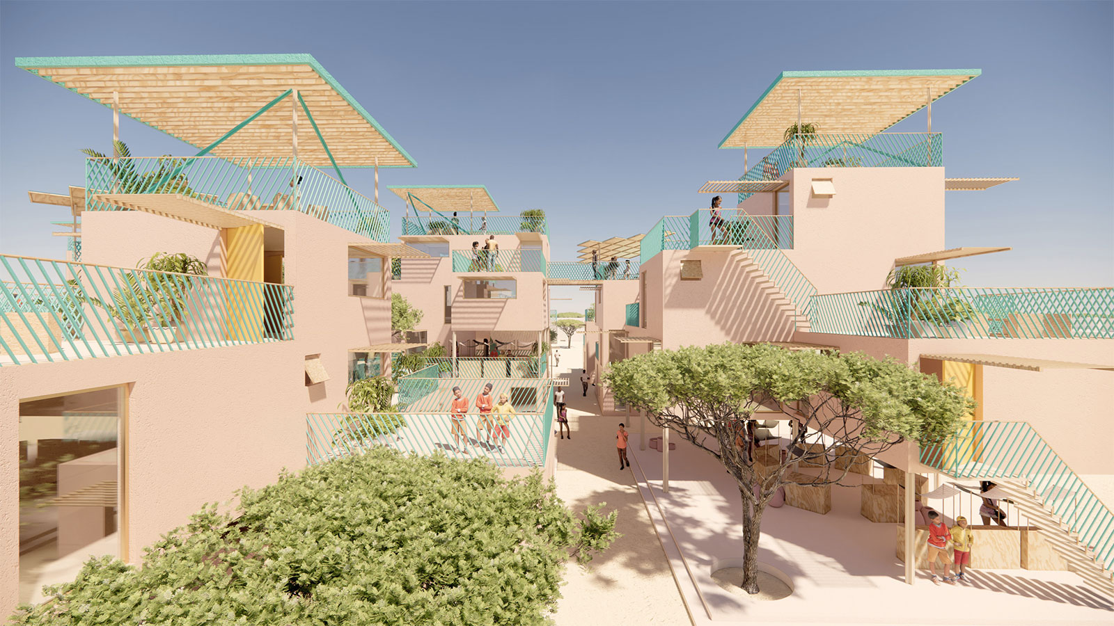 Othalo housing modules will be built using recycled waste plastic