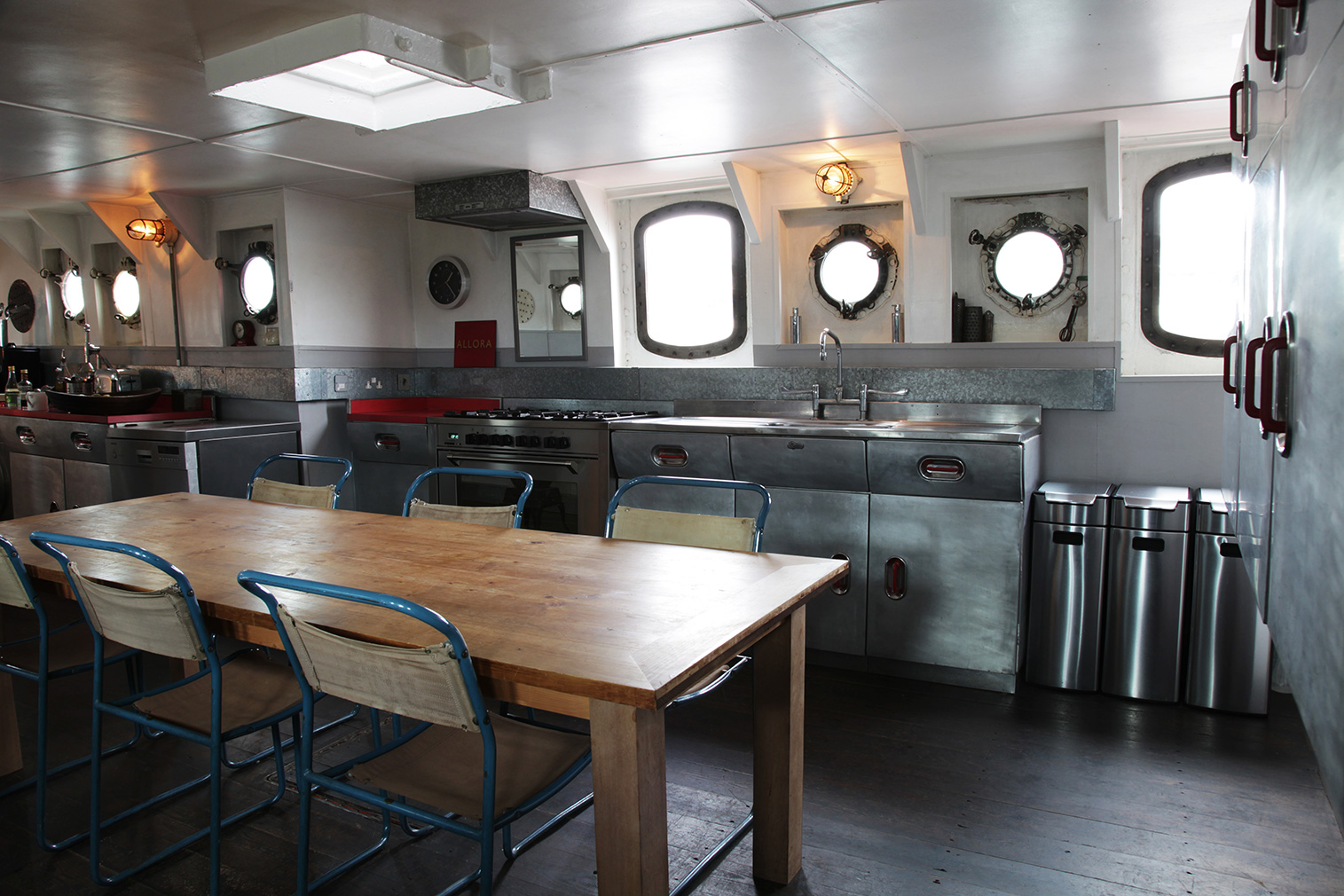 Floating home Light Vessel 93 is for sale in east London