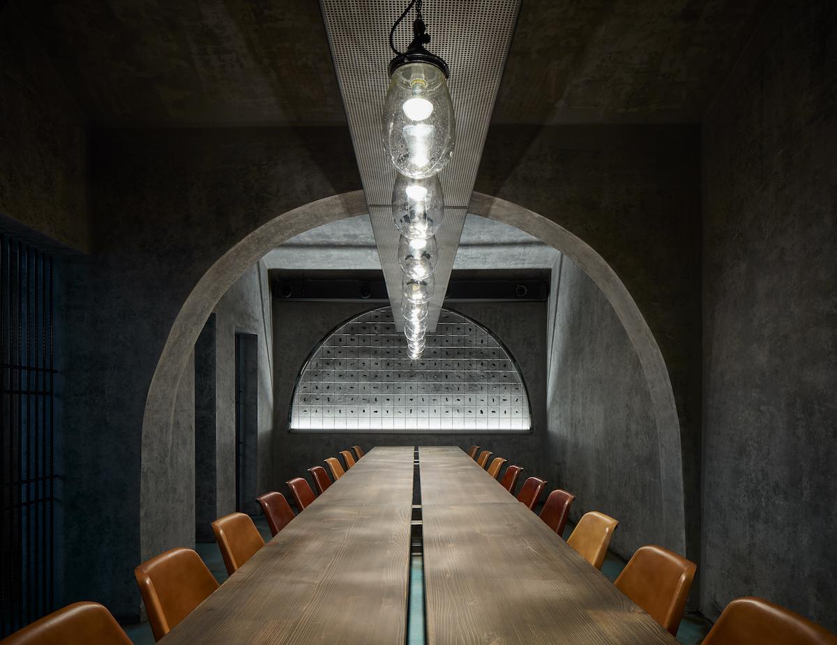 Prague restaurant Gran Fierro is all about the Brutalism