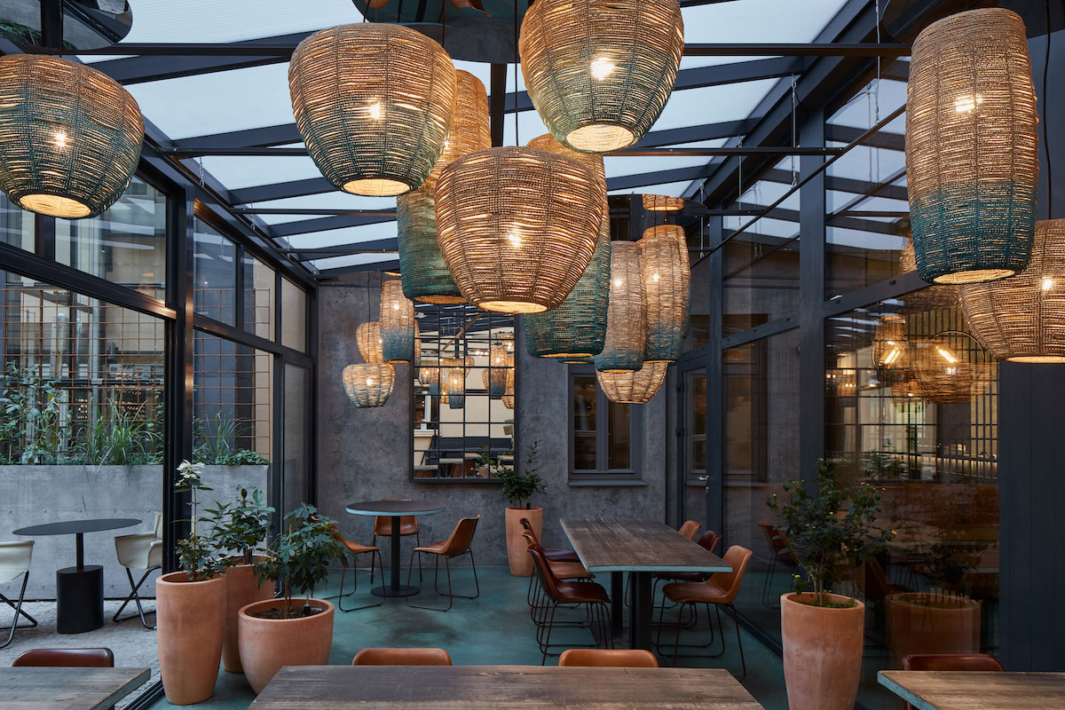 The Prague restaurant now focuses on sustainability and makes its own bio-charcoal on-site from recycled food.