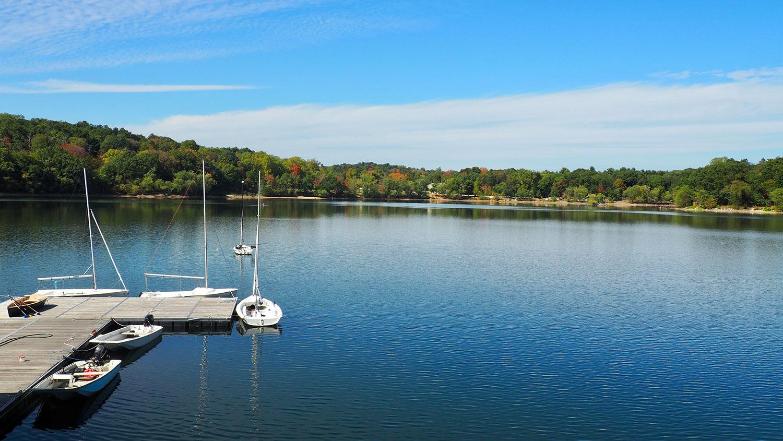 Jamaica Pond in Boston