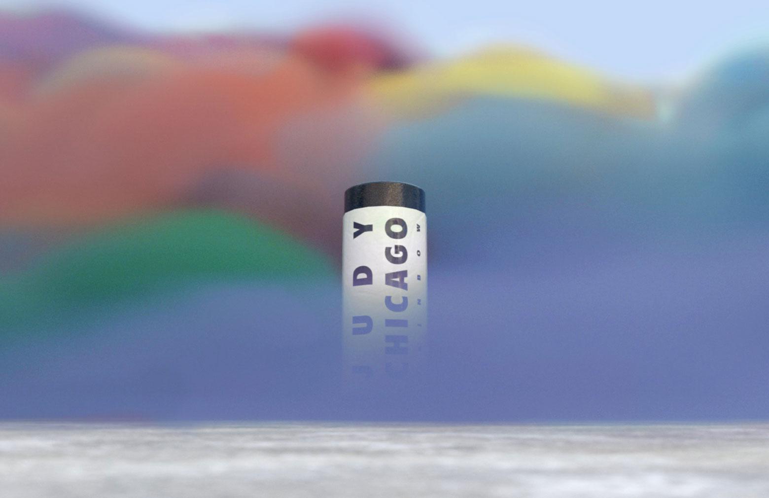 Judy Chicago Rainbow AR, 2020   © Judy Chicago ®