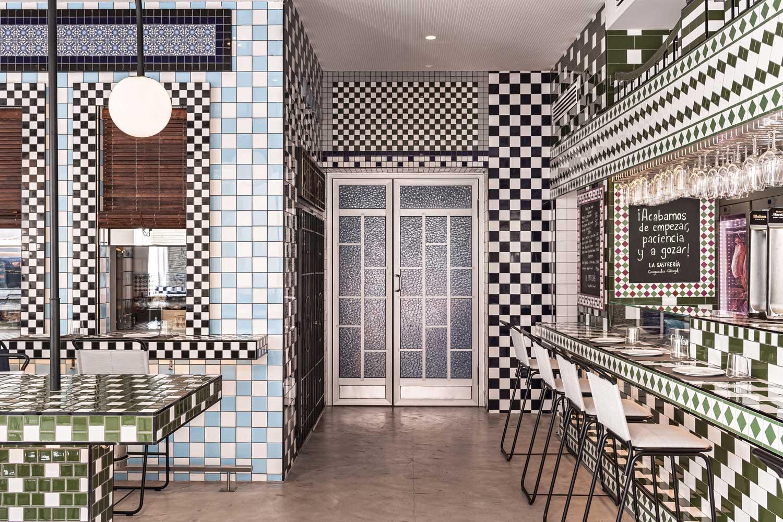 Maximalist Valencia restaurant  La Sastrería is all about the pattern
