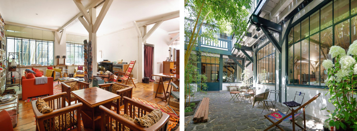 Loft-style apartment, Quai de Valmy, 10th arrondissement