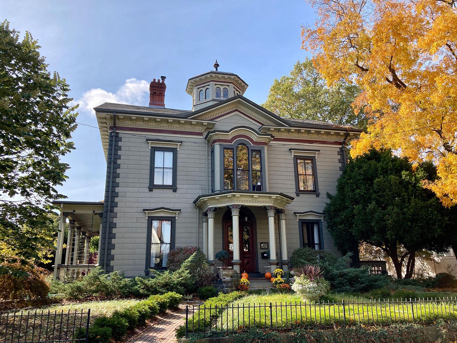 The Taylor House in Jamaica Plain