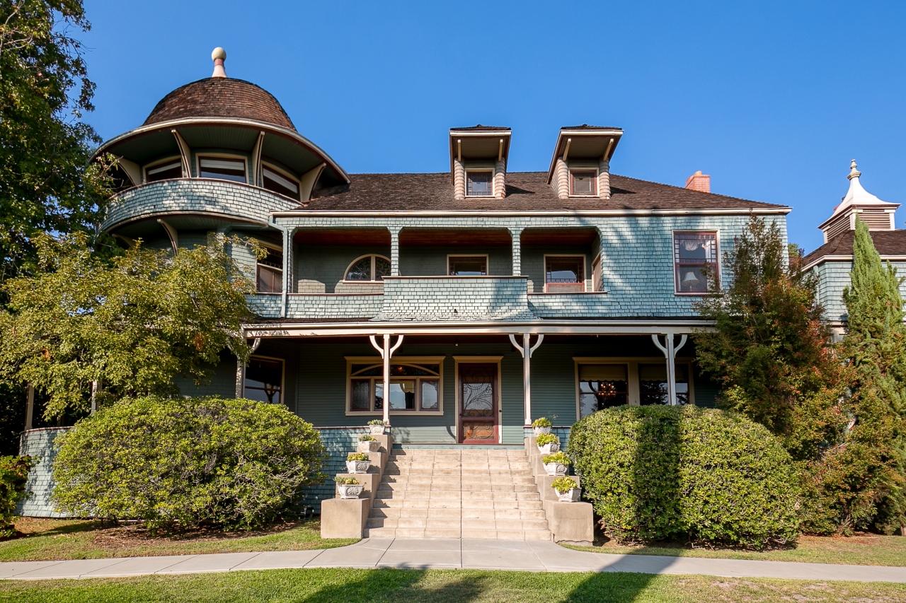 The historic Andrew McNally House in Los Angeles County